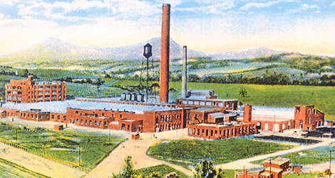 Learn about the history of the Roanoke Industrial Center.